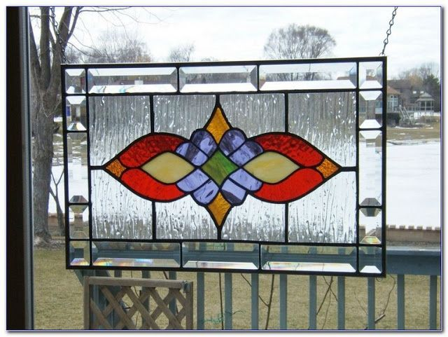 √√ Stained GLASS WINDOW Hangings Panels | Home Car Window Glass Tint Film