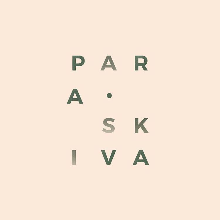 New brand identity for @_paraskiva_ . . . . . . . . . #logo #branding #graphicdesign #typography #design #tdkpeepshow
