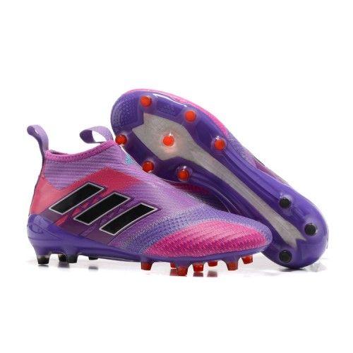 26cb18e11f бутсы Adidas ACE 17 PureControl FG фиолетовый Růžový Adidas Cleats