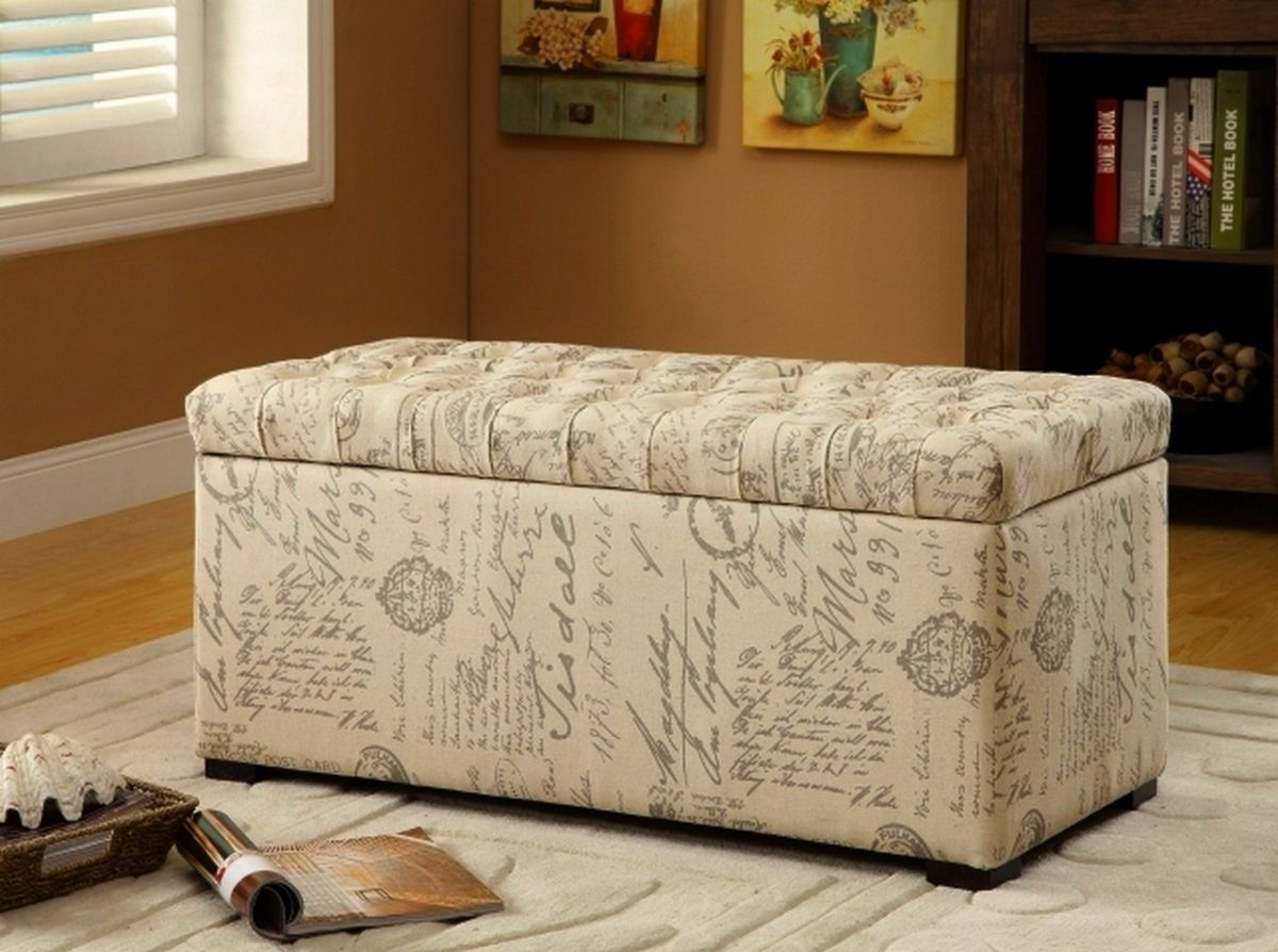 57e6f61add57b8626f152b1a15fcda76 - Better Homes & Gardens Pintucked Storage Bench