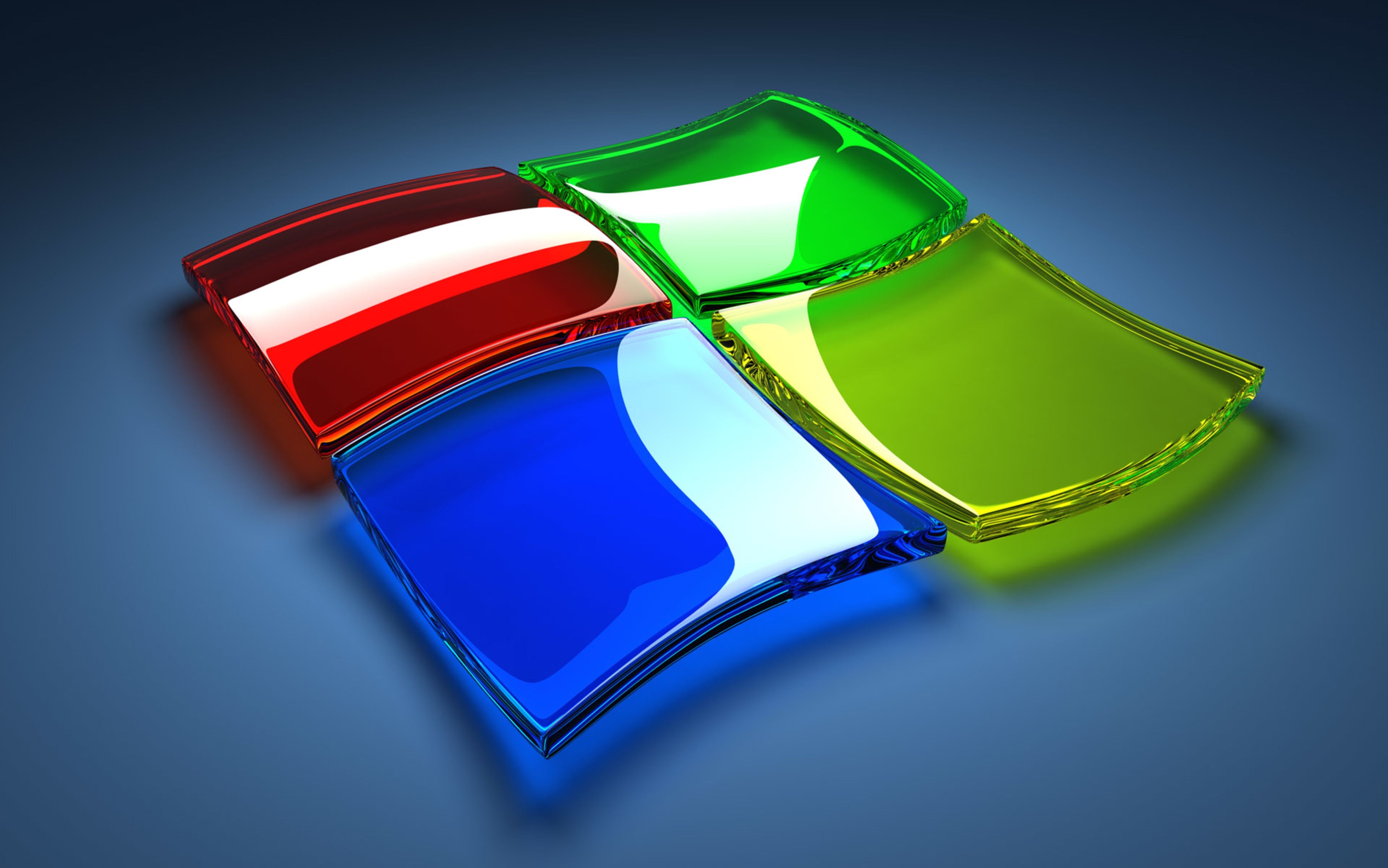 Wallpaper Download 5120x3200 Windows 7 logo 3D Wallpaper