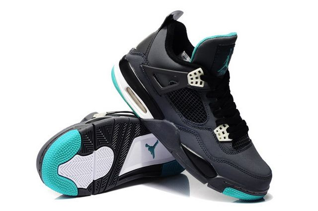 Air Jordan 4 Black Green