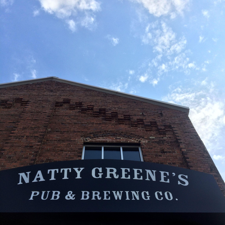 Natty greenes in downtown raleigh summer beer raleigh