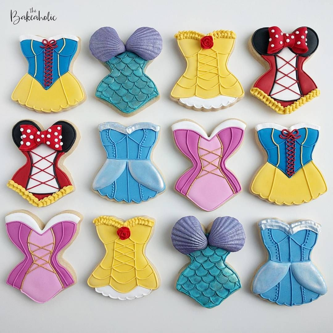 Galletas Decoradas De Princesas Pin De Ma Guadalupe En Galletas Decoradas Galletas