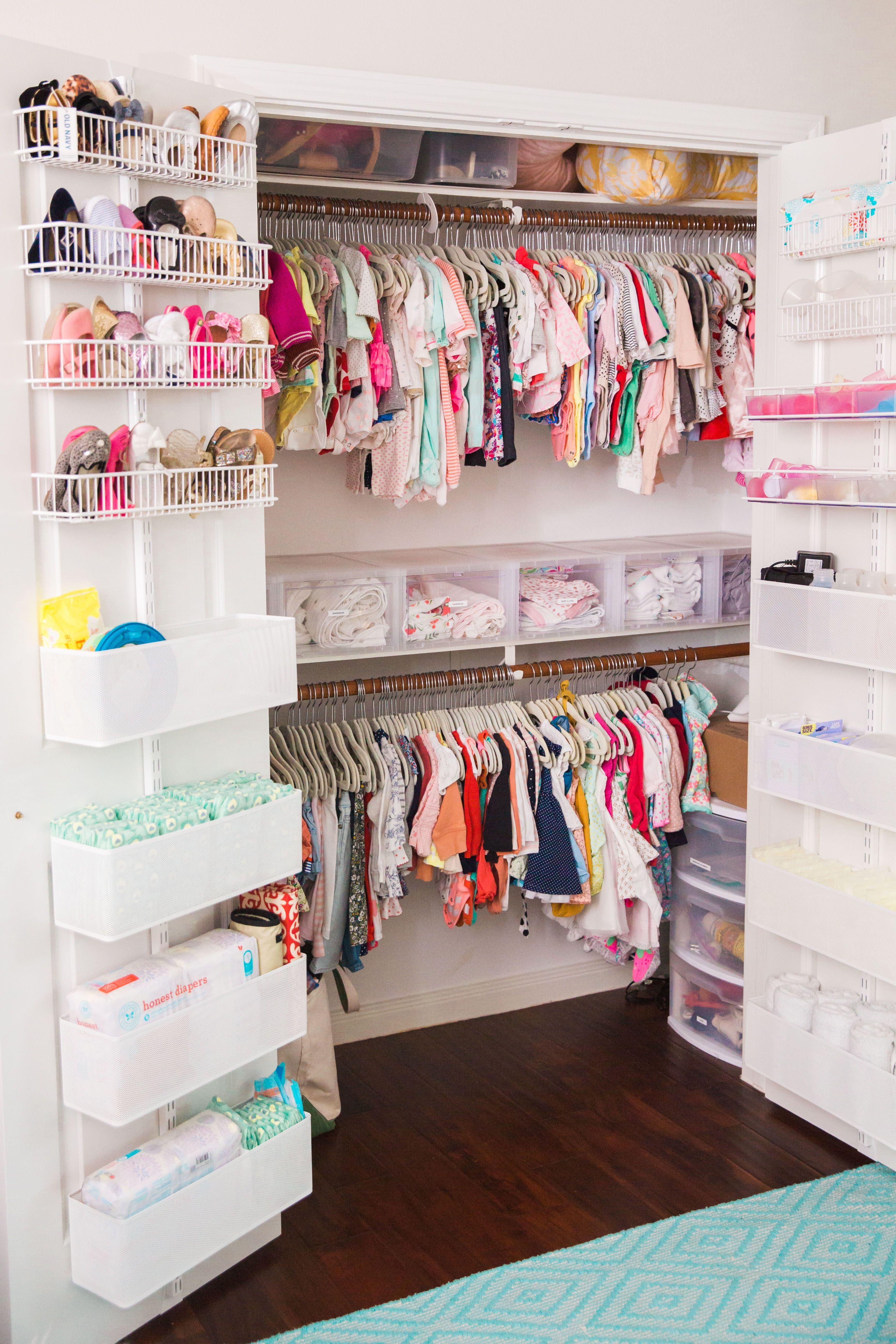 Oh Joy Inspired Nursery Girl Room Baby Girl Room Baby Closet