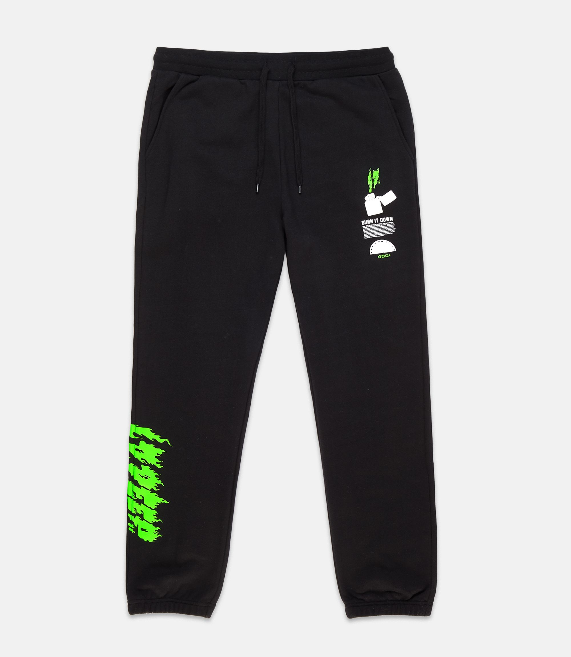 huge discount cdaac ef79b ight weight fleece sweatpants with screenprinted graphics and cased elastic  and drawcord waist.