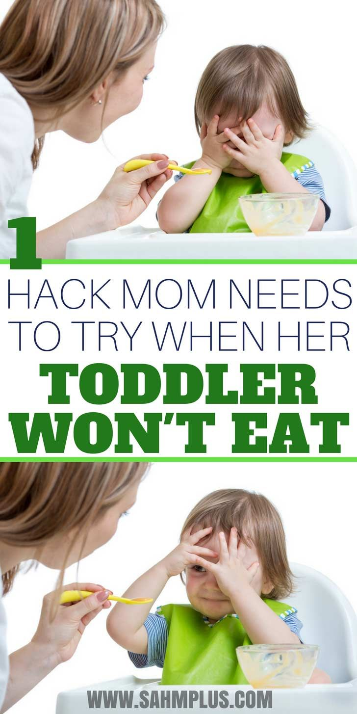 Toddler Won't Eat Dinner? You'll Love This Toddler