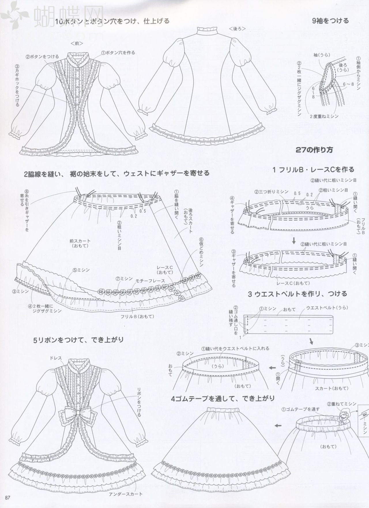 D.I.Y Lolita dress page 4 | Things I Want To Sew | Pinterest ...