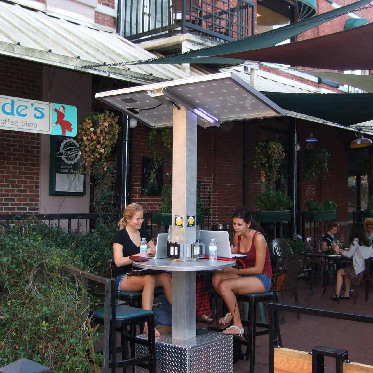 outdoor charging station Google Search Tenaga surya