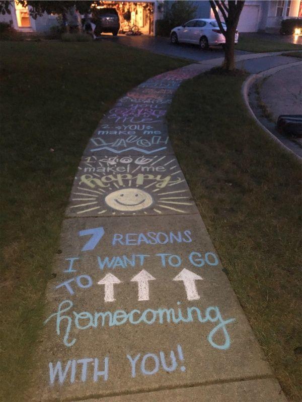 #homecomingproposalideas