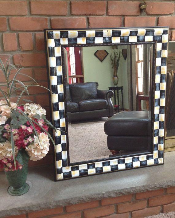Die besten 25 spiegel dekorieren ideen auf pinterest spiegel kreisf rmiger spiegel und - Spiegel dekorieren ...
