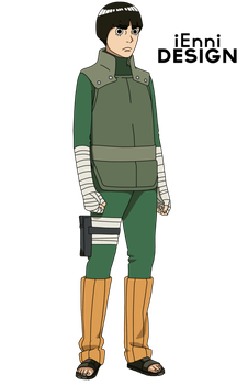 The Last Naruto The Movie Rock Lee By Iennidesign Naruto The Movie Rock Lee Naruto