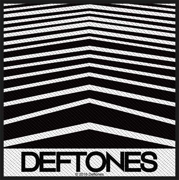 Deftones Logo Woven Patch Ep761 Embroidered Sewn Punk Metal