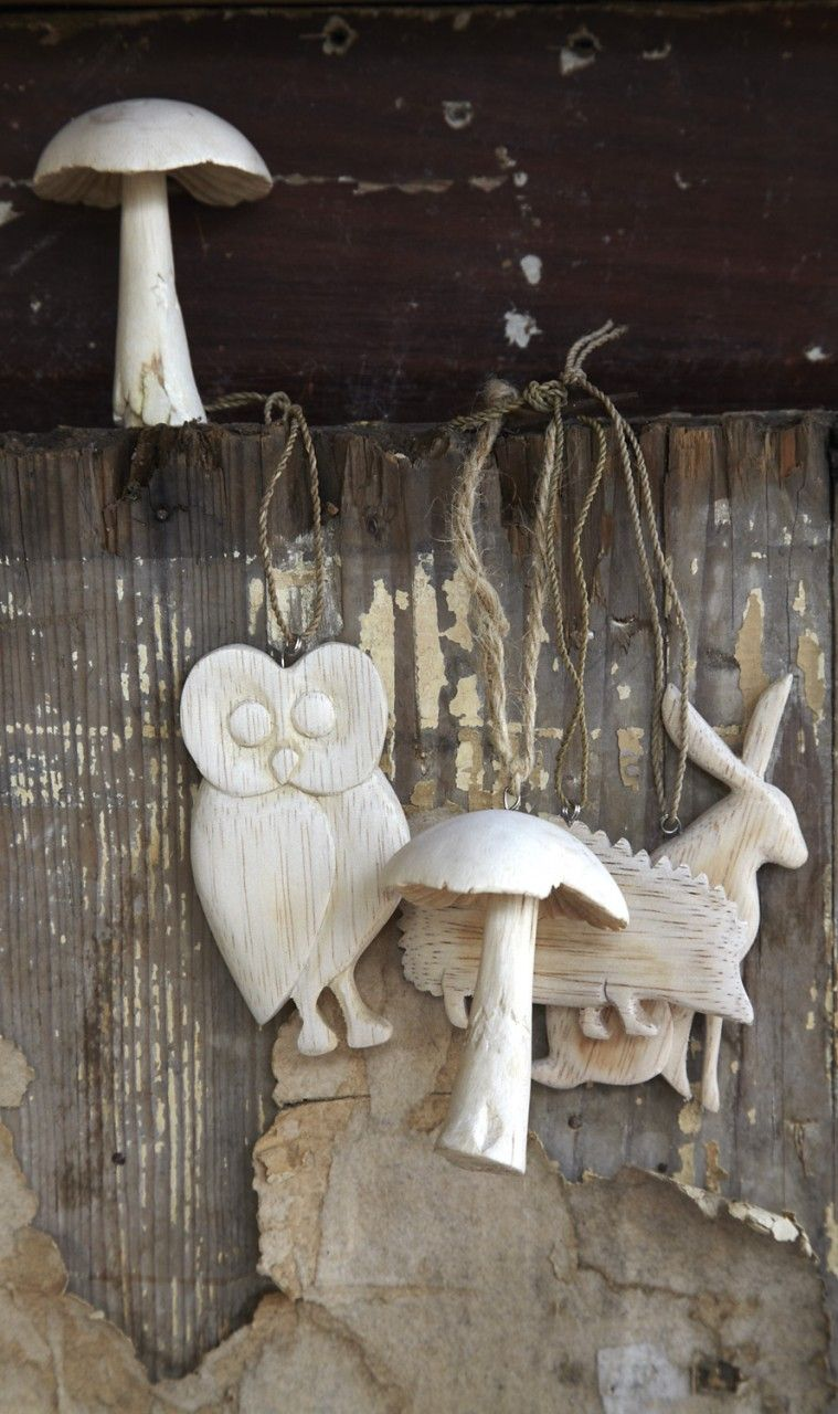 Balsa Wood Animals Christmas Decorations Diy Crafts Wood Ornaments Wood Animal