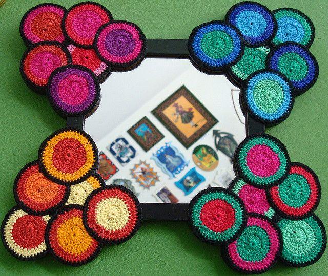 Creative use of crochet motifs