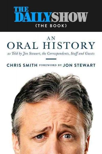 """An uncensored history of """"The Daily Show With Jon Stewart"""" as told by its correspondents, writers, and host shares behind-the-scenes stories as well as observations about its blend of news reportage and comedy and its enduring cultural and professional influence."""