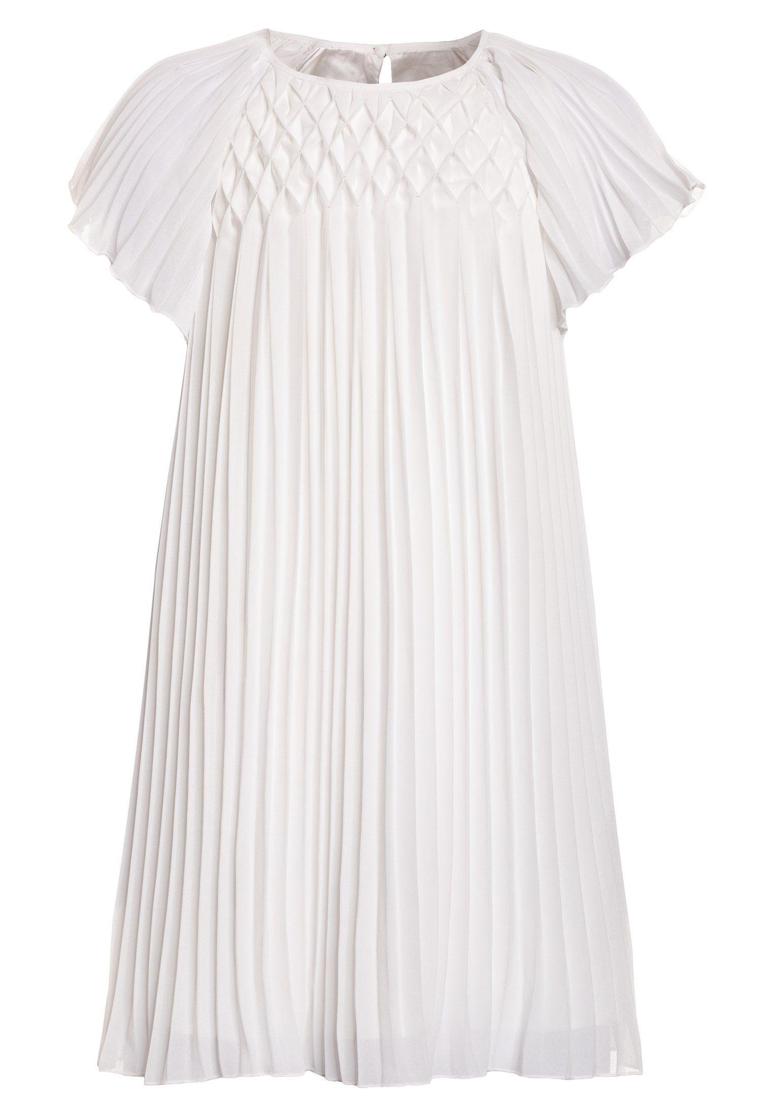 PLISSE DRESS OLD - Cocktailkleid/festliches Kleid - bright white ...