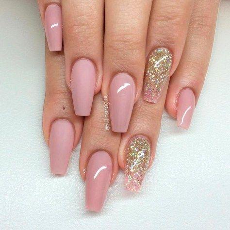 amazing gel acrylic nail art 2018  pink acrylic nails