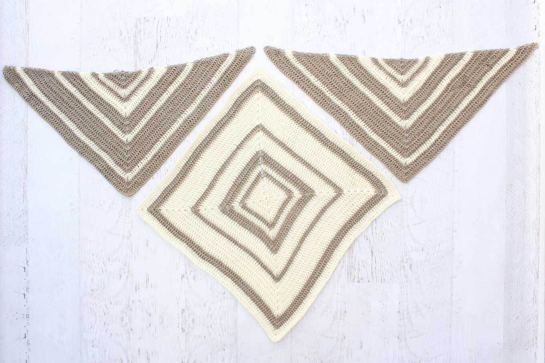 Logan House Wrap - Free Modern Scarf Crochet Pattern   Tejidos de ...