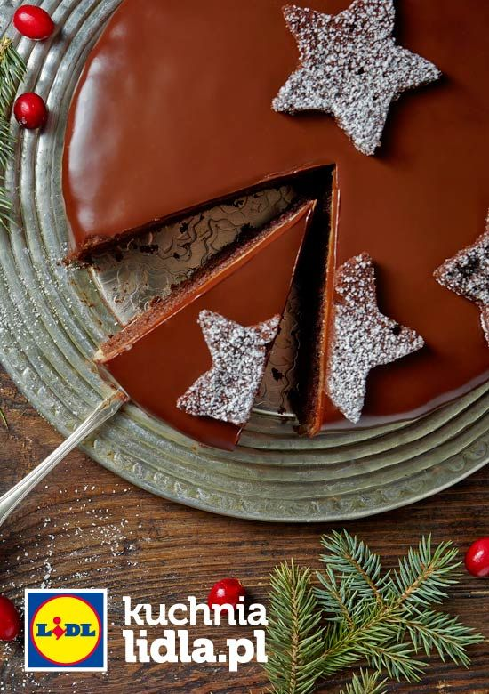 Czekoladowy Tort Nicolas Przepis Recipe Polish Christmas Bakehouse Eat