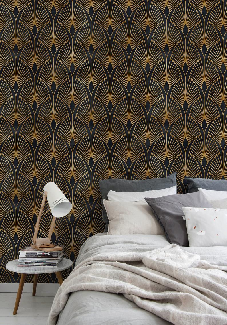 Removable Wallpaper Moroccan Peel And Stick Wallpaper Neutral Etsy Removable Wallpaper Wallpaper Decor Bedroom Wallpaper Neutral