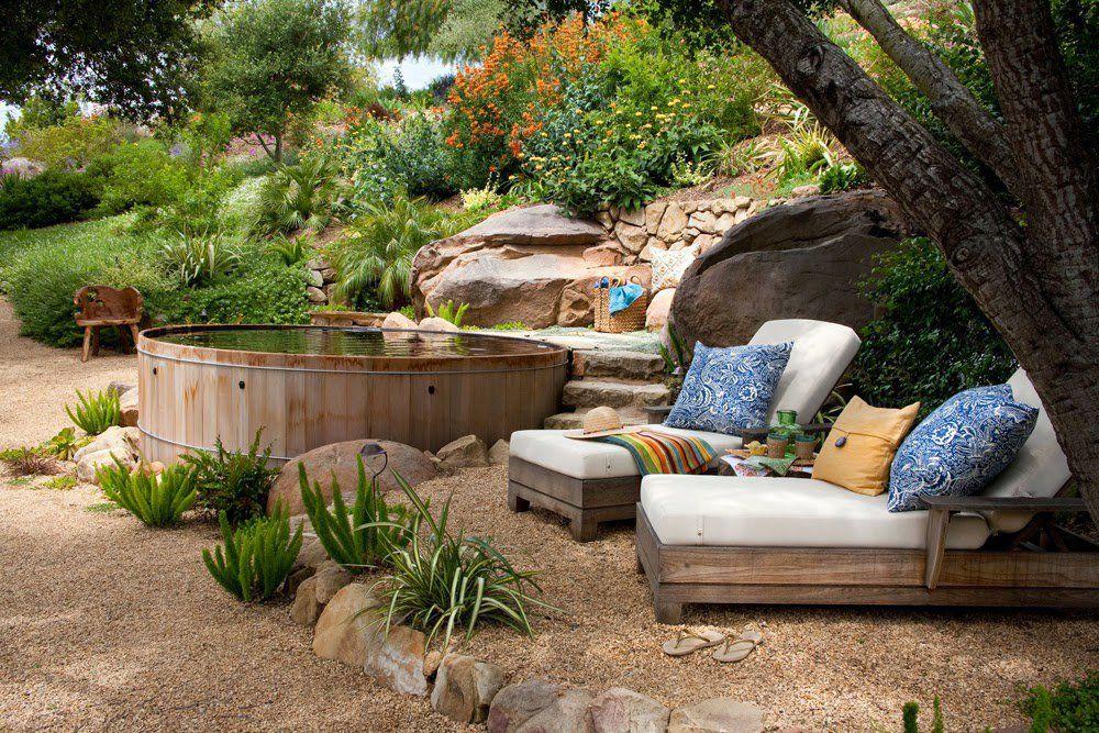 25 Ideas de diseños rústicos para decorar el patio con pérgolas ...
