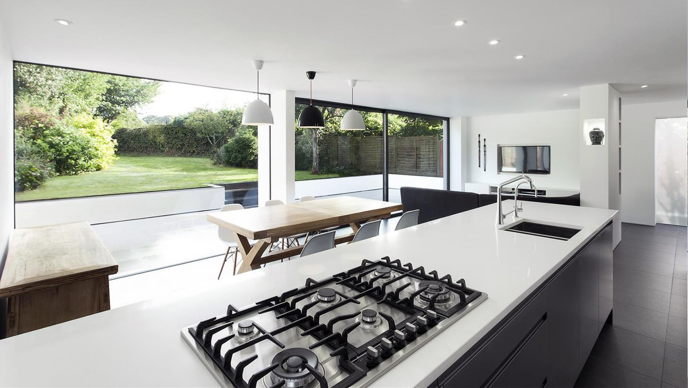 The medics house contemporary modern home extension renovation