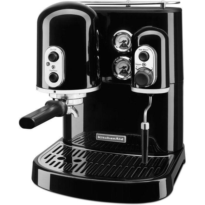 KitchenAid Pro Line Semi-Automatic Espresso Machine #automaticespressomachine