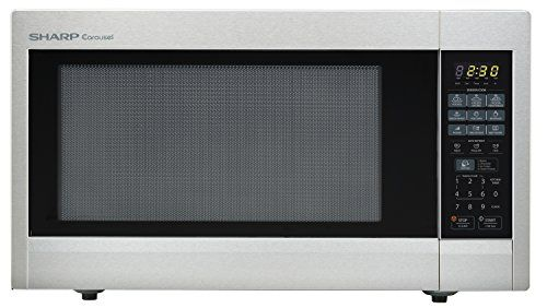 Sharp Countertop Microwave Oven Zr651zs 2 Cu Ft 1200w Stainless Steel With Sensor Cooking