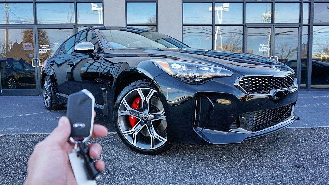2018 KIA Stinger GT Start Up, Exhaust, Walkaround and