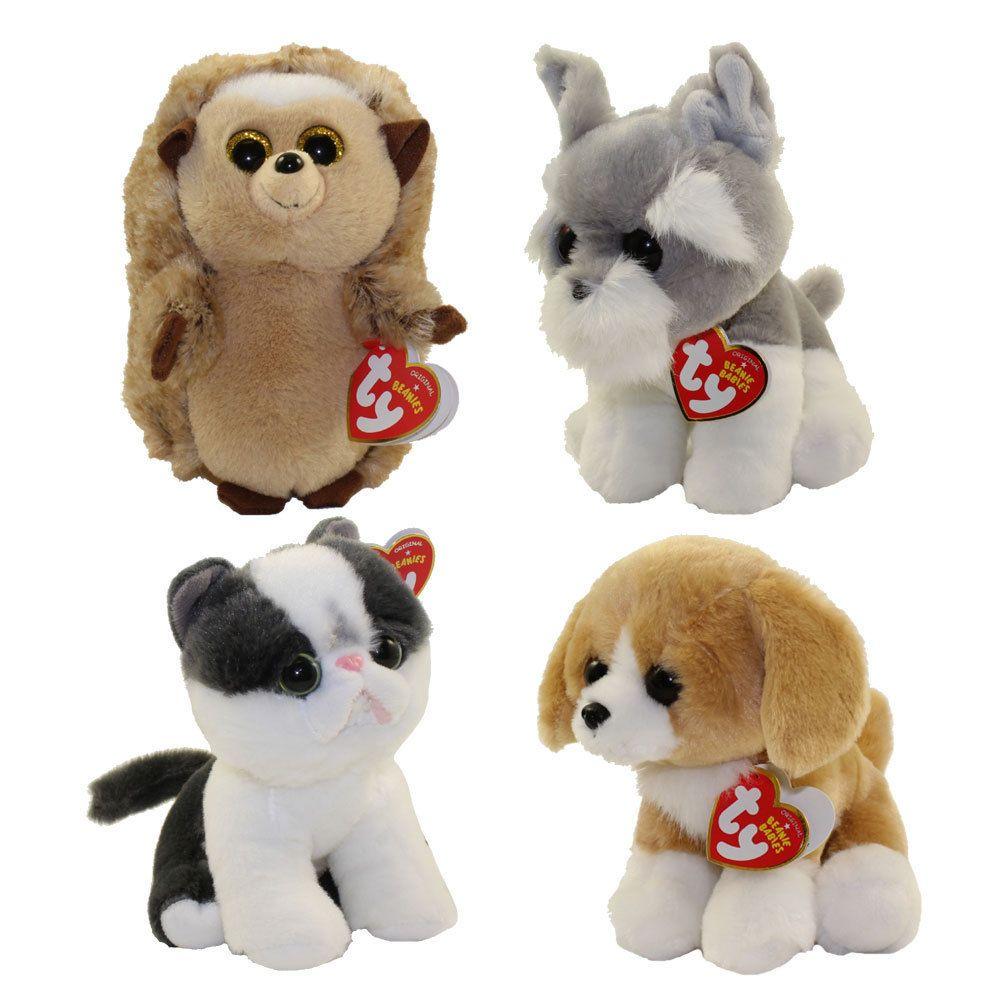 76b7233eb46 Current 165959  Set Of 4 Ty 6 Beanie Baby Ida Yang Franklin Harper Plush  Stuffed Animal Mwmt S -  BUY IT NOW ONLY   28.95 on eBay!
