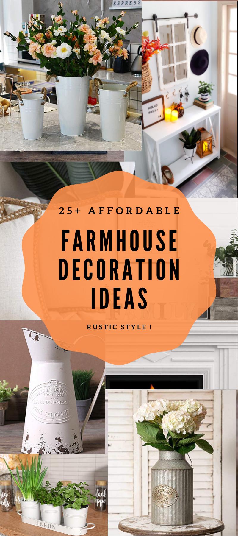 25+ Affordable Farmhouse Decoration Ideas, 2020 Home Decor , Rustic Home Decoration, Living Room Design Ideas #homedecorinspiration #rustichome #farmhouse