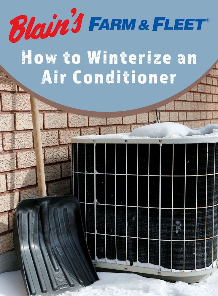 How to Winterize an Air Conditioner (With images) Air