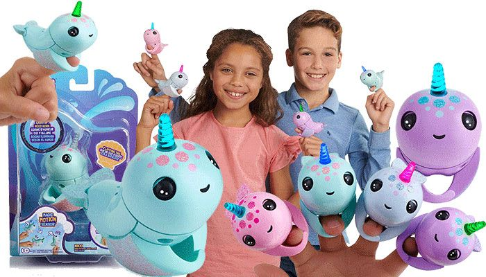 Fingerlings Light Up Narwhal Review | Top christmas toys ...