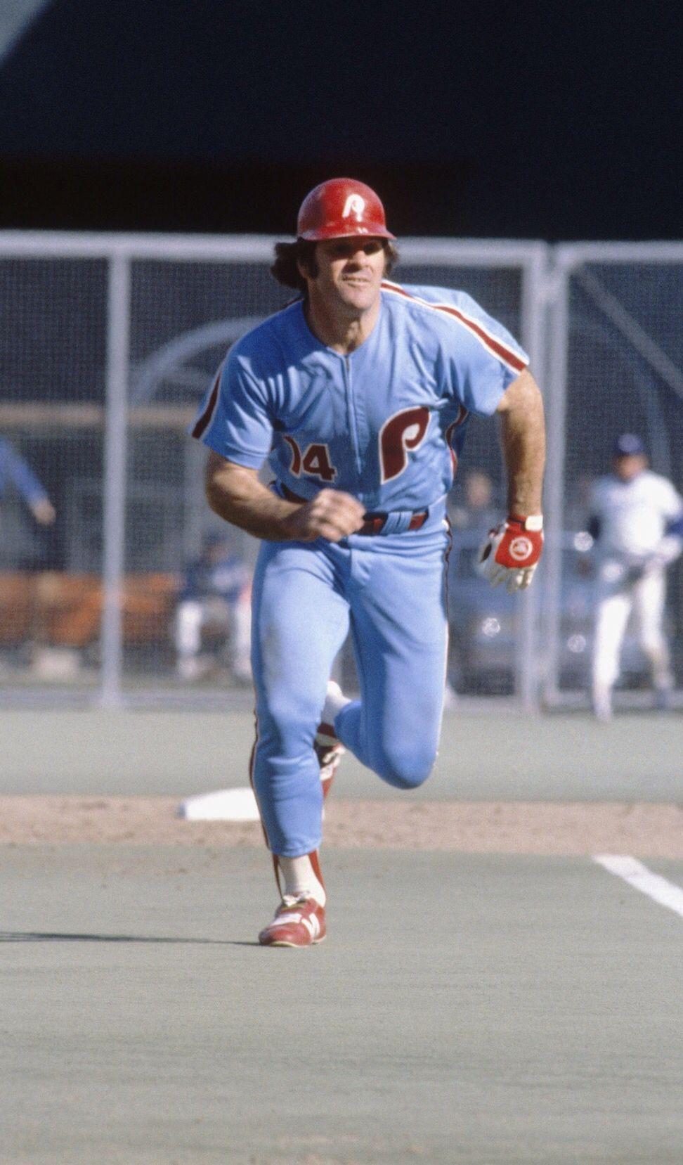 Pete Rose 1980 World Series Phillies baseball