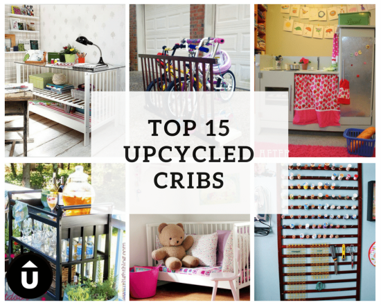 REPURPOSED CRIB & CHANGING TABLE IDEAS Wondering what to do with ...