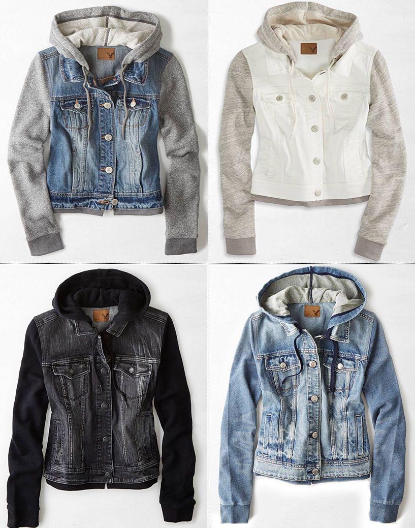 American Eagle Ae Womens Denim Jean Vest Vested Hooded Hoodie Jacket Coat Nwt Hooded Denim Jacket Hoodie Jacket Outfit Hoodie Jacket [ 1039 x 817 Pixel ]