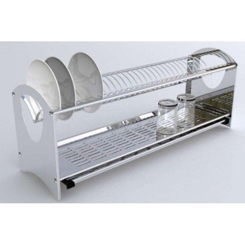 Scolapiatti flat da appoggio o a parete free standing cm for Accessori da parete cucina