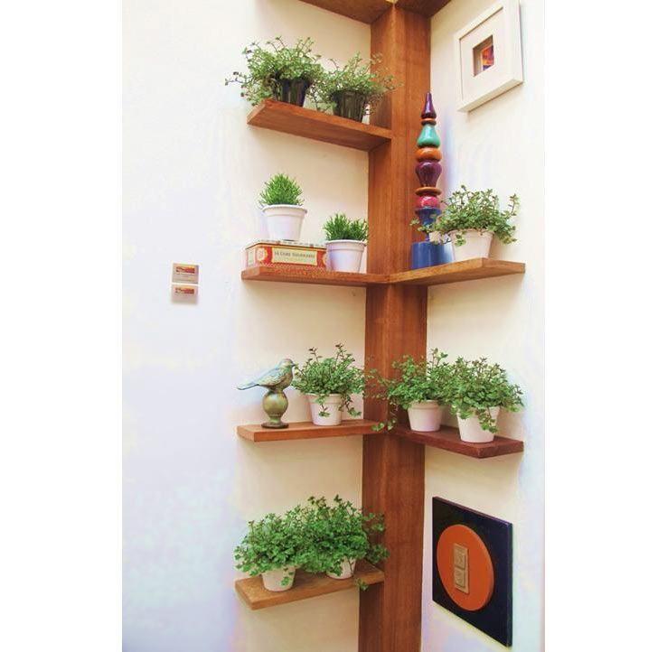 11 ideias para cultivar flores e plantas em uma varanda for Jardines pequenos esquineros
