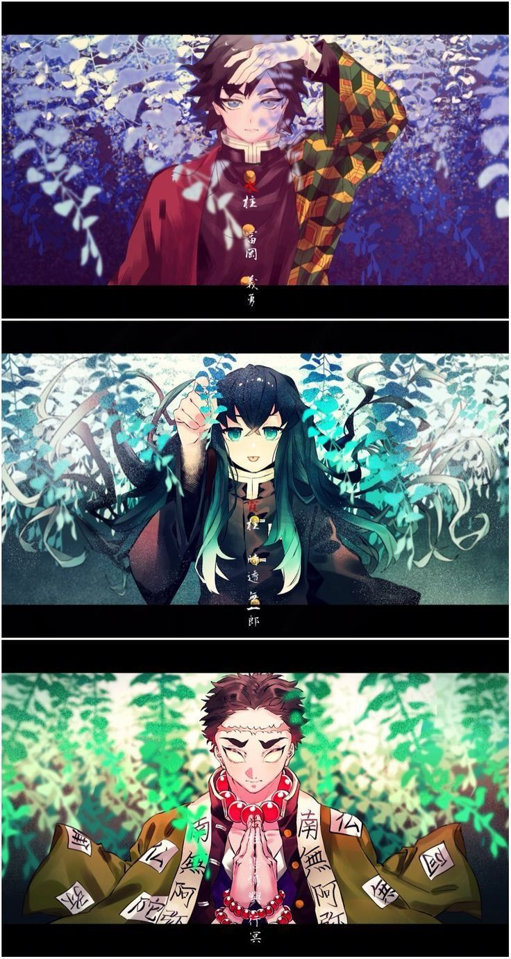 KNY' 雪柱 di 2020 Seni anime, Animasi, Anime anak lakilaki