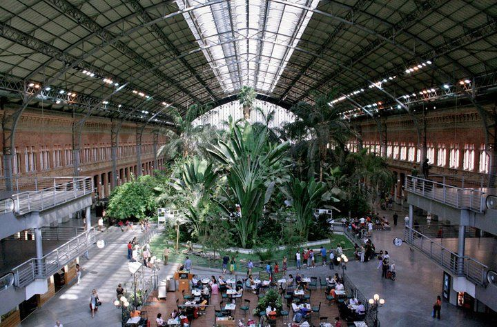 Travel Green: Madrid, Spain! Arrive at Indoor Botanical Garden and ...