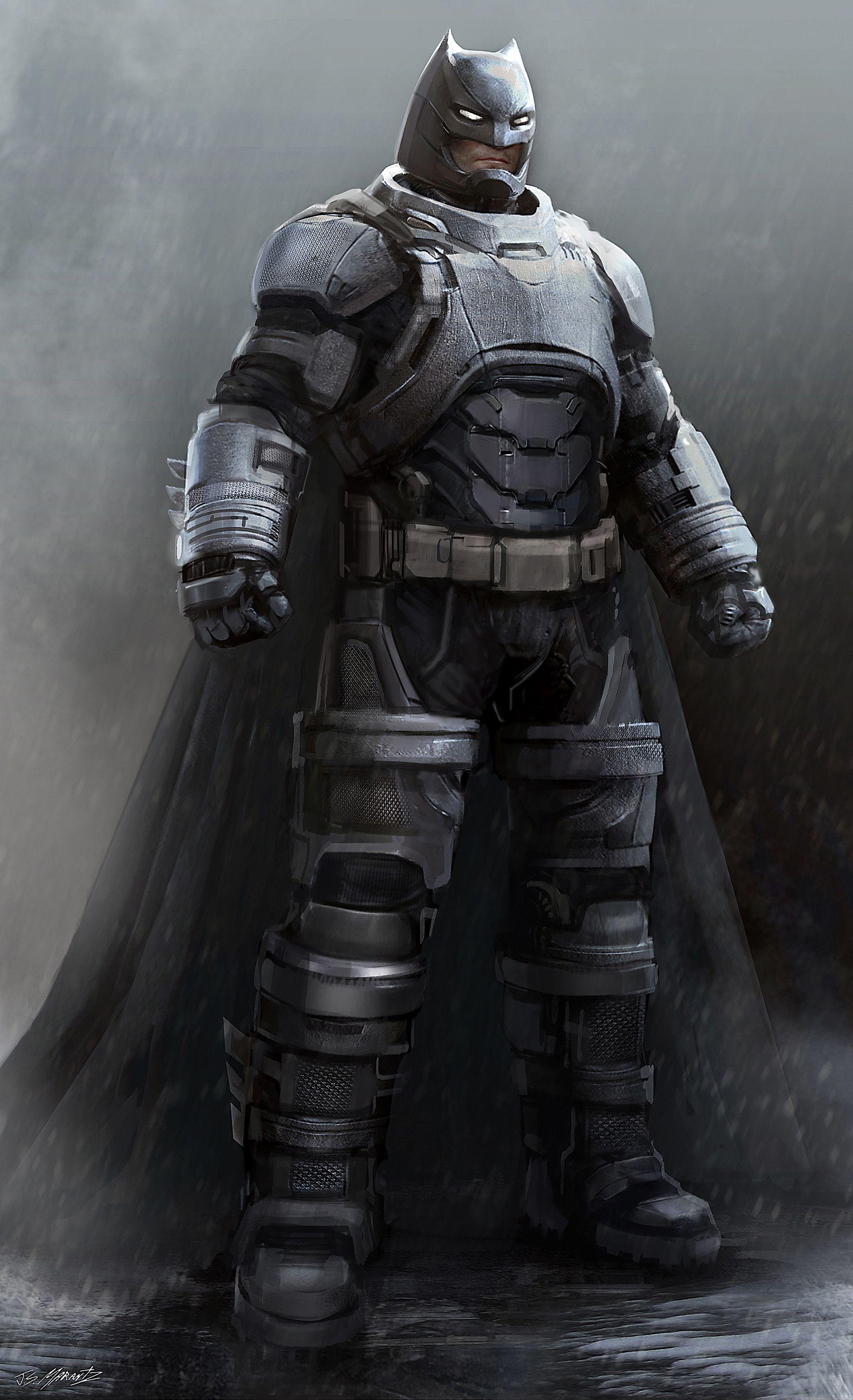 Artstation Batman Vs Superman Batmanmech Concept Art Jerad