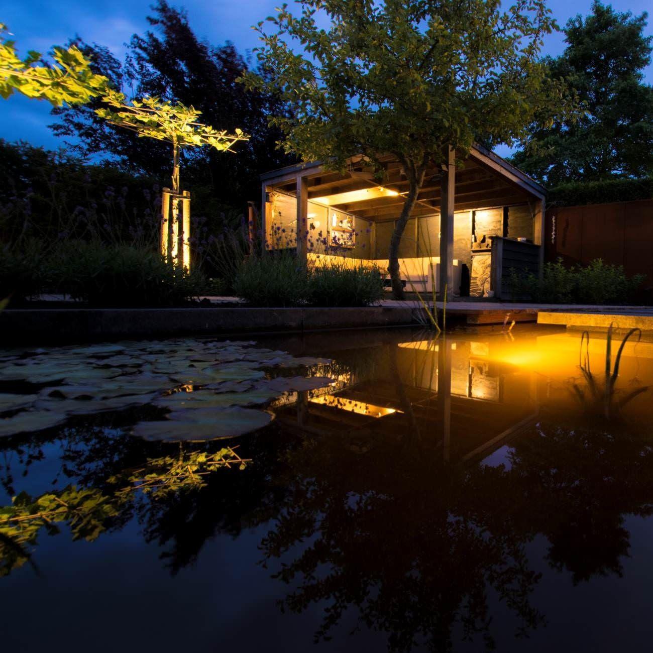 Sfeerfoto Wa Verlichting Tuinverlichting Verlichting Tuin Net