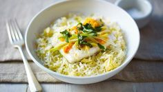Low fodmap recipe steamed ginger fish served with egg fried rice low fodmap recipe steamed ginger fish served with egg fried rice http forumfinder Images