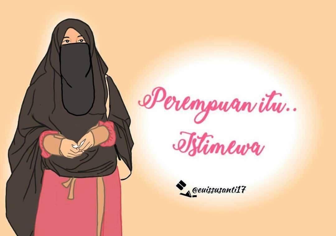 Pin By Tanty Nasution On Muslimah Cartoon T Itu And Muslim