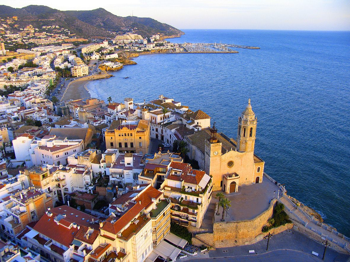 Sitges, Spain - One of the most beautiful places.