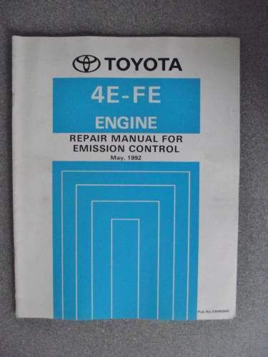 toyota manual engine 5e