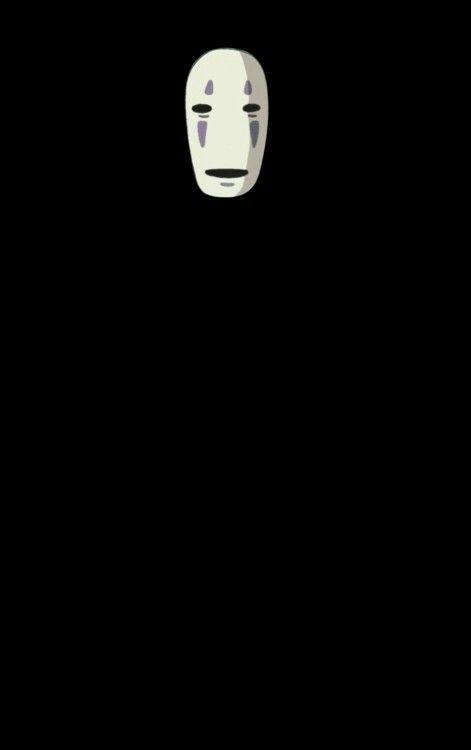 No Face Spirited Away Hayao Miyazaki Clipart A Viagem De Chihiro Papeis De Parede Duplo A Viagem