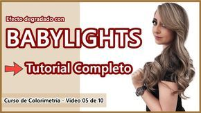 BABYLIGHTS – Tutorial Paso a Paso – Curso de Colorimetria 05 de 10