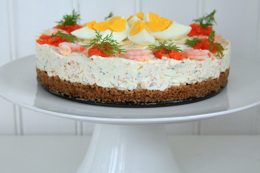 26Mar2015 Räkcheesecake med stenbitsrom, ägg och kavring categories: Linda Wenneson